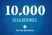 El Port de Barcelona alcanza a los 10.000 seguidores en Twitter